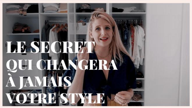 Le secret qui changera à jamais votre style